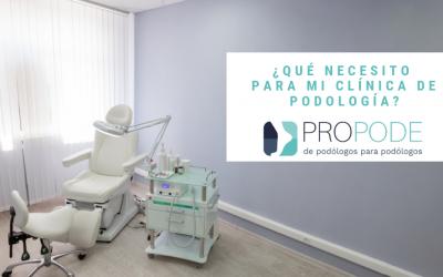 ¿Qué necesito para mi clínica de podología?