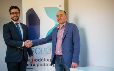 1- Nueva colaboración: firmamos convenio de colaboración con Podiatech