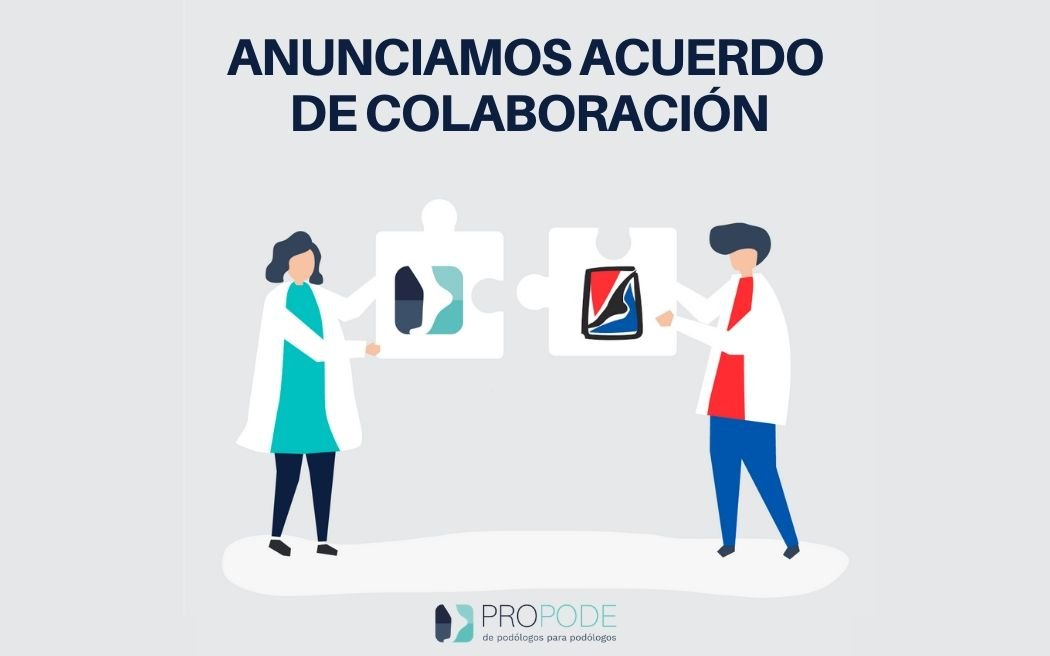 PROPODE ANUNCIA ACUERDO CON LA AECP (Asociación Española de Cirugía Podológica)